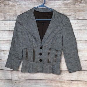 BeBe Collection Brown Career or Office Blazer
